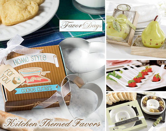 practical wedding favors that are cooking and kitchen friendly