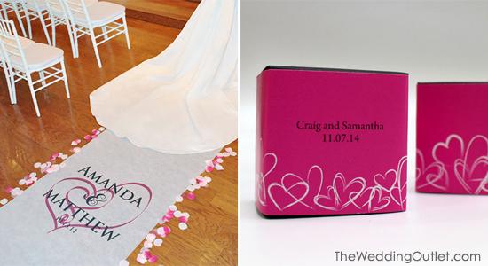 Top 4 Accessory Ideas For A Heart Wedding Theme