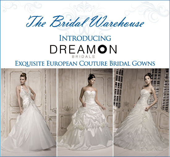 The Bridal Warehouse introduces . . .
