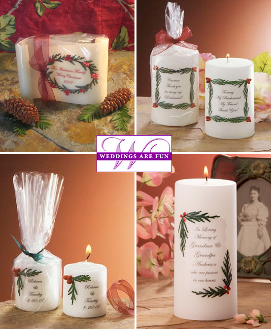 These Can Be Personalized With The First Names Of The Bride And Groom And Wedding Date Used As A Memorial Candle Or Make Your Own 4 Line Personal Message