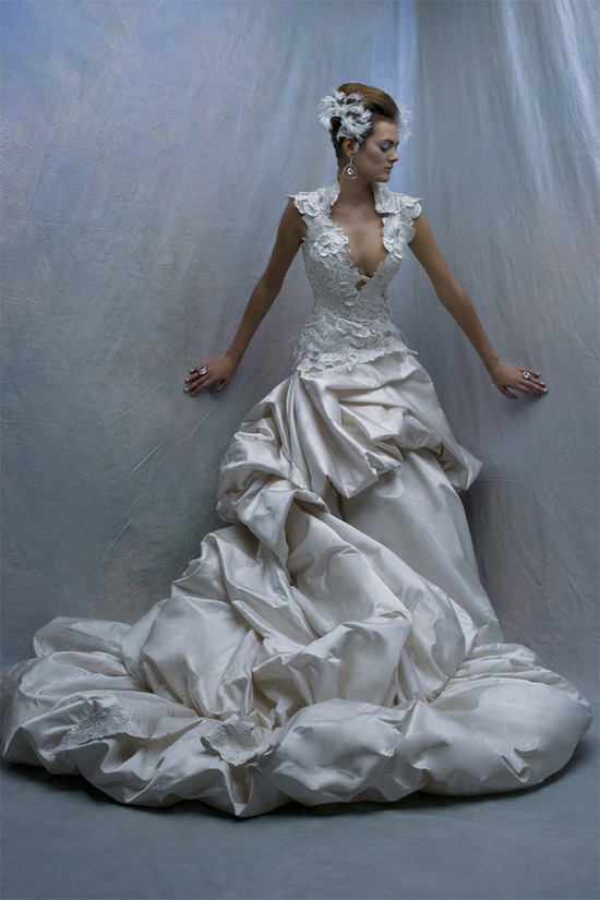 Wedding Dresses Jefferson St Dallas Tx : St pucchi designer rani totman designed a custom wedding gown for
