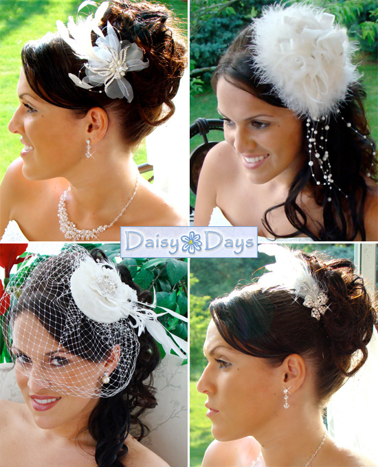 Unique Feather Headpieces and Bridal Headbands 3c3d253720d