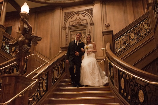 A Titanic Styled Wedding an inspirational shoot at the  : 6 titanic wedding staircase from www.brendasweddingblog.com size 550 x 367 jpeg 96kB