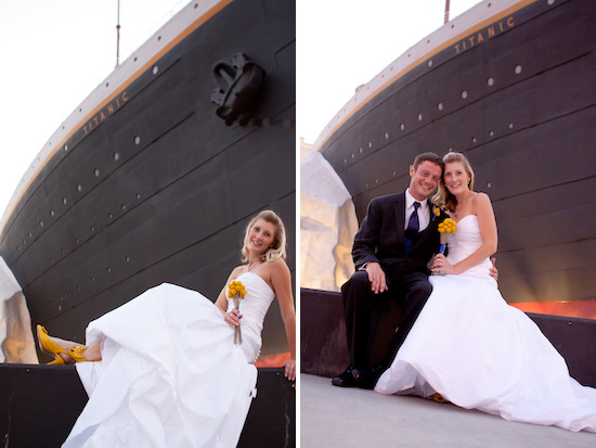 Titanic wedding