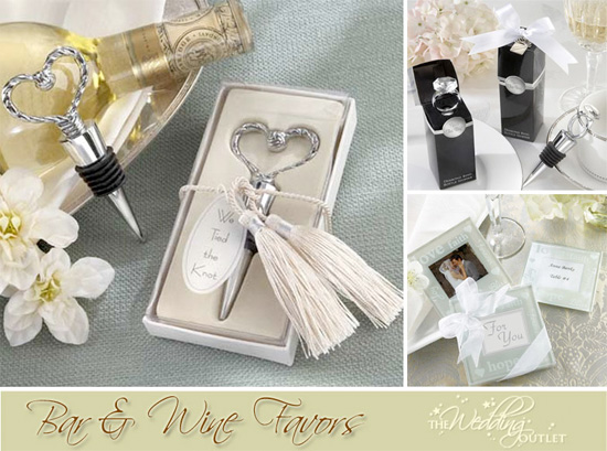 Wedding Ideas Gifts For Guests: Friday Favor Of The Day : Fun Bar And Wine Favors