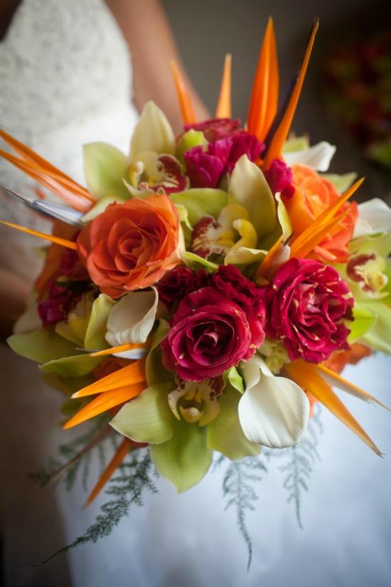 A Hawaiian Themed Wedding In Newport Rhode Island