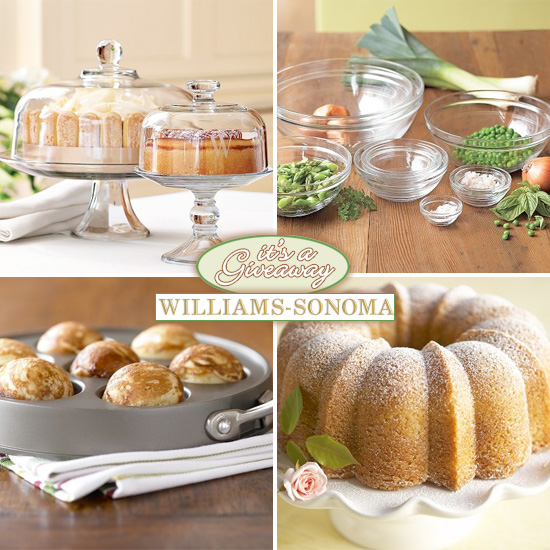 william sonoma giveaway giveaway 150 gift certificate to williams sonoma 7769