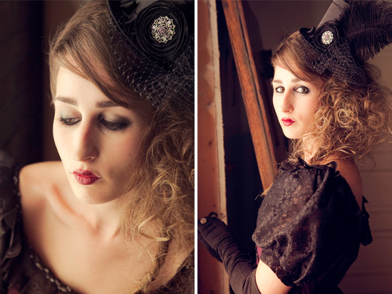 Photo Shoot Steampunk Vintage Chic Where Victorian