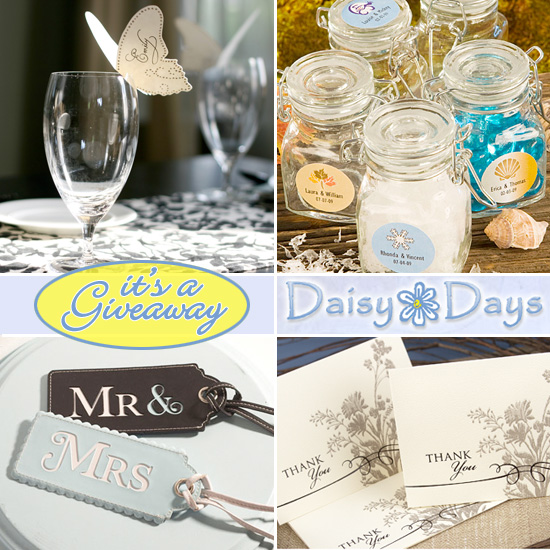 Give Away Gift Ideas For Weddings: Wedding Giveaway : Daisy Days $100 Gift Certificate
