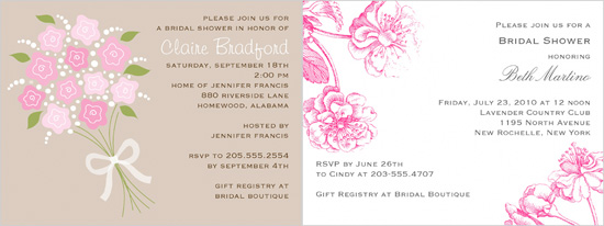 wedding shower invitations from shutterfly