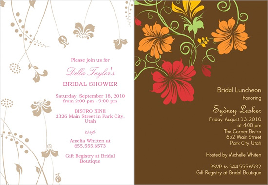 wedding shower invitations from shutterfly, Wedding invitations