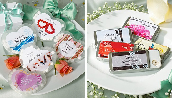 Refreshing Personalized Mint Tin Favors