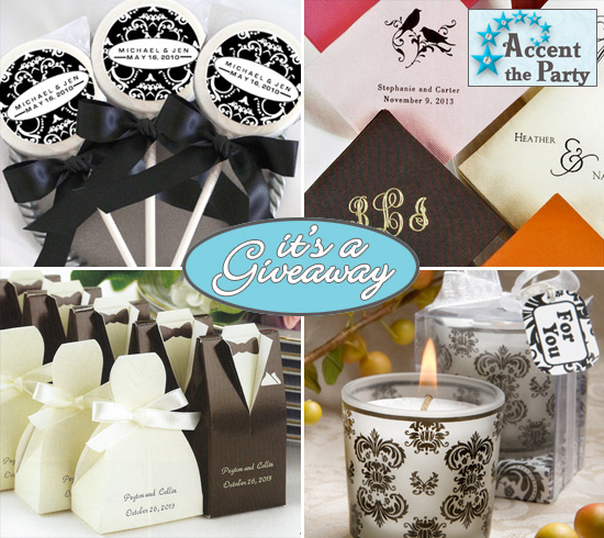 "Give Away Gift Ideas For Weddings: Giveaway : $100 Shopping Spree To ""Accent The Party"""