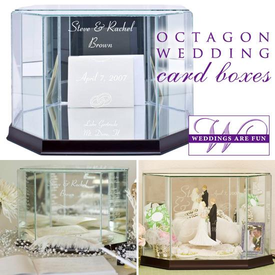 Glass Wedding Card Boxes – Elegant Wedding Card Boxes