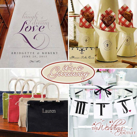 The Wedding Outlet: Giveaway : $100 To Shop At Wedding Outlet For Favors