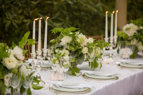 Inspirational Wedding Dinner Under The Tuscan Sun . . . In Connecticut