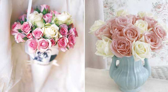 inspiration for flower arrangements and centerpieces