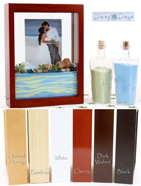 Wednesday Wedding Accessory Unity Sand Ceremony Picture Frame