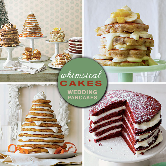 Winter Wedding Food: Pancakes : A Unique Choice For Winter Wedding Food Buffets