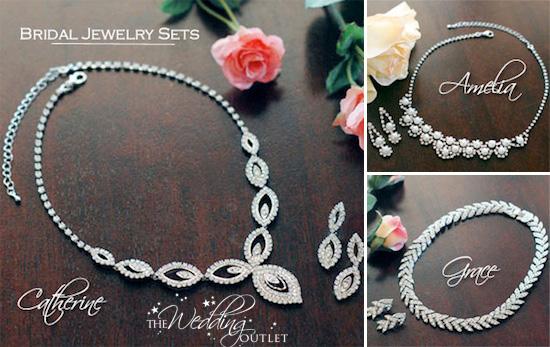7c7b2bb5335 Wednesday Wedding Accessory : Bridal Jewelry Sets