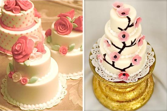 Chocolate Candy Cake Wedding Favors