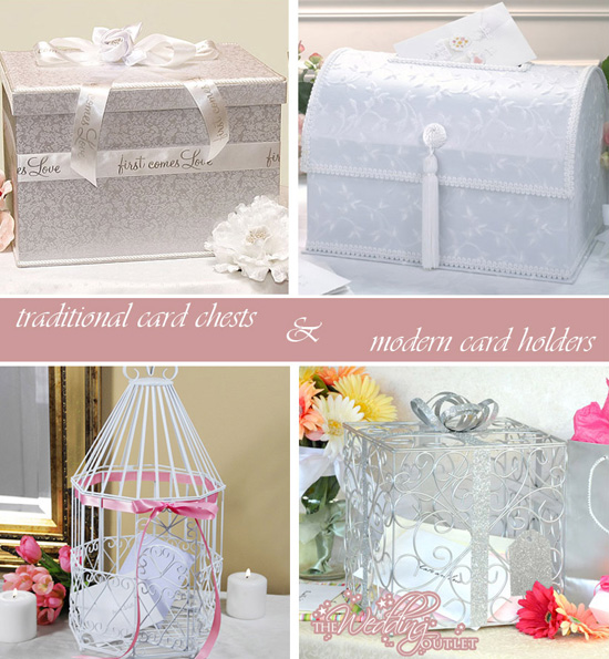 Elegant Whimsical Wedding Card Boxes Birdcages and more