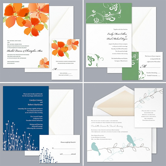Wedding Invitations from Davids Bridal     Brendas Wedding pR51xPBn