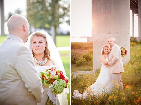 bride and groom in Charleston, SC | photo by www.chiphotographyofcharleston.com
