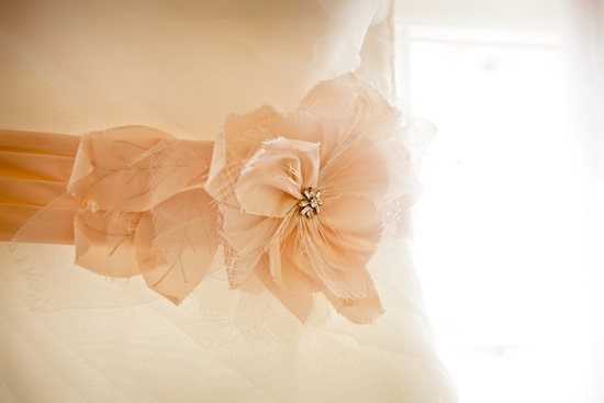bridal gown sash | photo by www.chiphotographyofcharleston.com