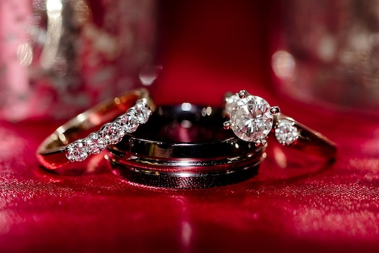 beautiful wedding ring shot | photo by www.chiphotographyofcharleston.com