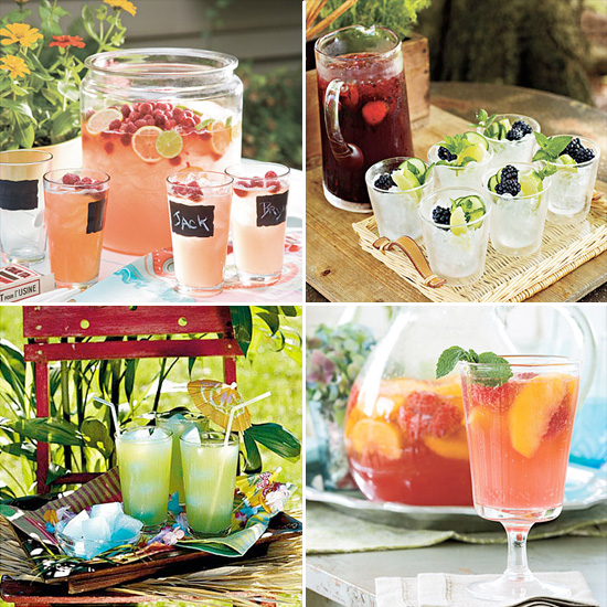 refreshing drinks for summer parties