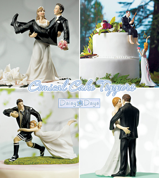 Wedding Cake Toppers From Whimsical To Romantic To Comical