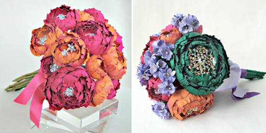 Eye Candy Friday V82 Bejeweled Silk Floral Bouquets