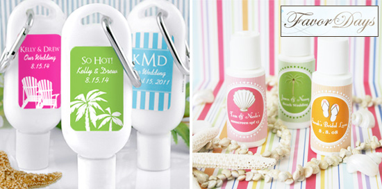 Friday Favor Of The Day Sunscreen Favors