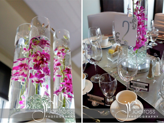 Plum And Silver Wedding With Lots Of Bling In Winnipeg Mb