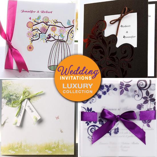 types of invitations