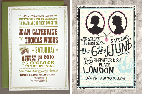Invitation Showcase 1 HelloLucky letterpress digital