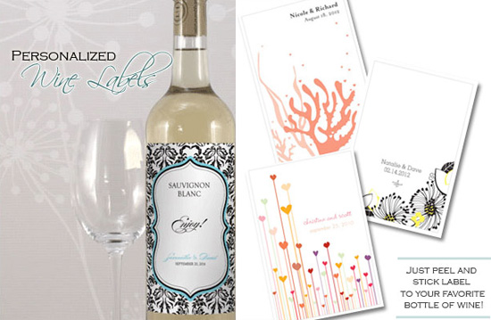 Friday Favor Of The Day Personalized Wine Labels