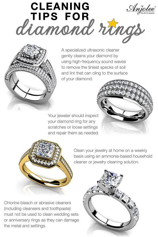 Cleaning Tips for Diamond Rings