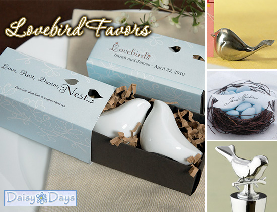Bird themed wedding favors image collections wedding decoration ideas bird themed wedding favors gallery wedding decoration ideas love junglespirit Gallery