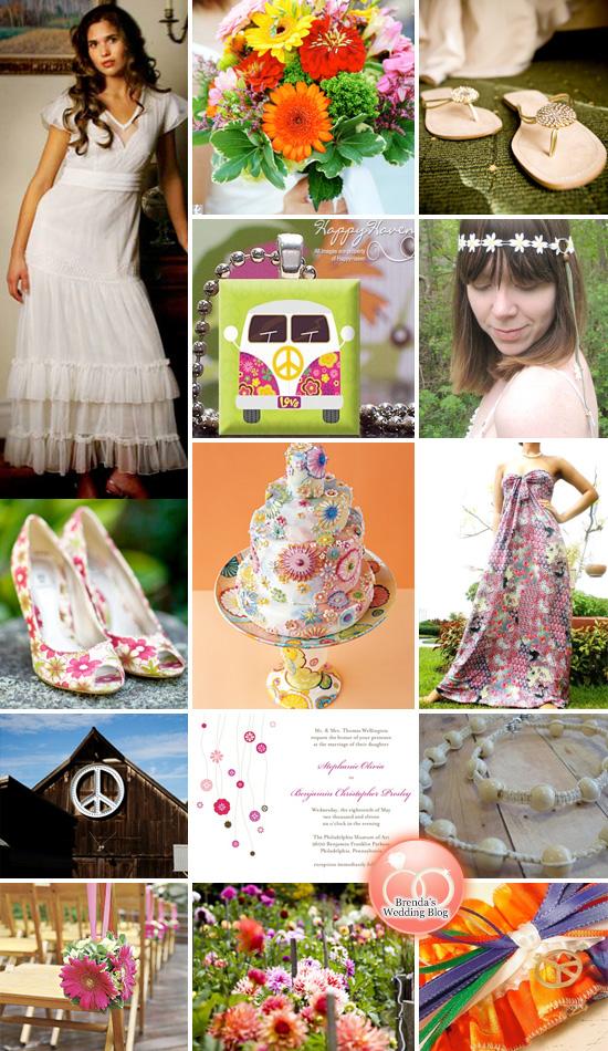 Hippie Chic Wedding {Inspiration Board}