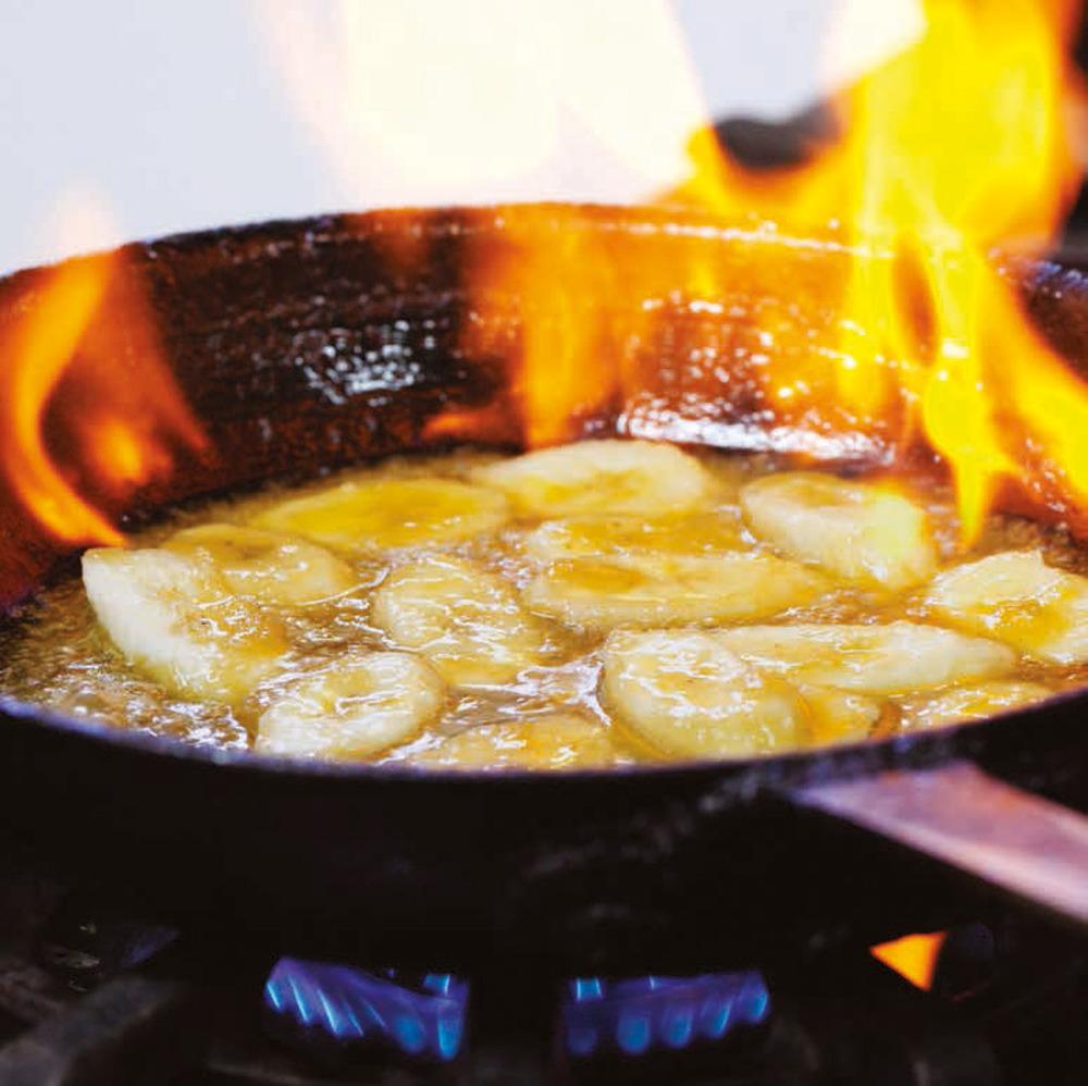 Banana Flambé
