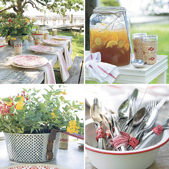 Summer Wedding Decoration Ideas: The Perfect Outdoor Summer Tablescape