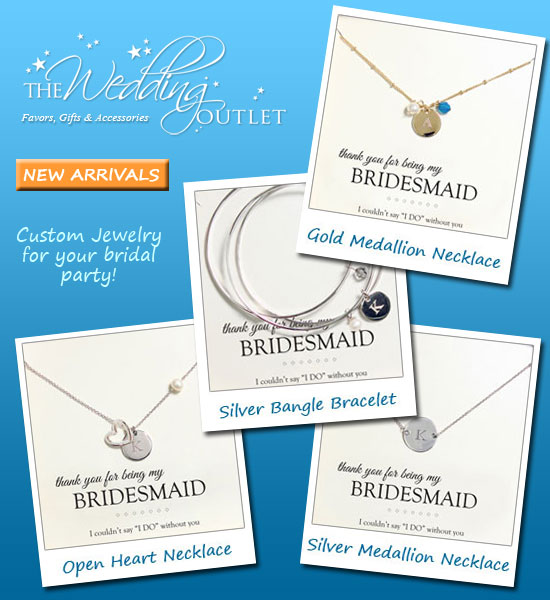 Custom Bridal Jewelry for your Wedding Party