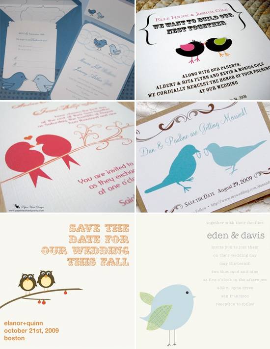 Love Birds Wedding Invitations as awesome invitation layout