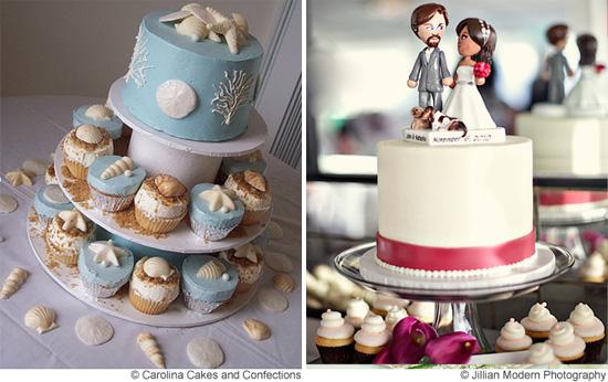 5 Beach Wedding Cake Ideas - Beach Wedding Cakes Ideas