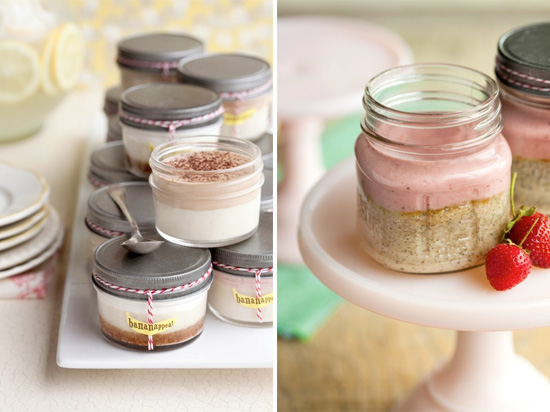 Cakes In A Mason Jar Wedding Favors From Bananappeal