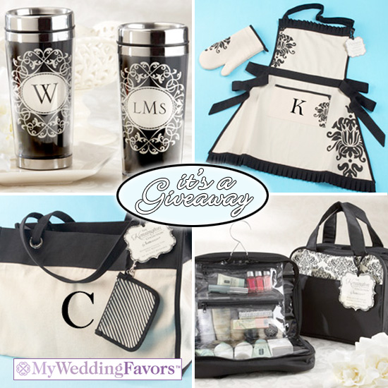 Giveaway win a personalized gift set from my wedding favors junglespirit Images