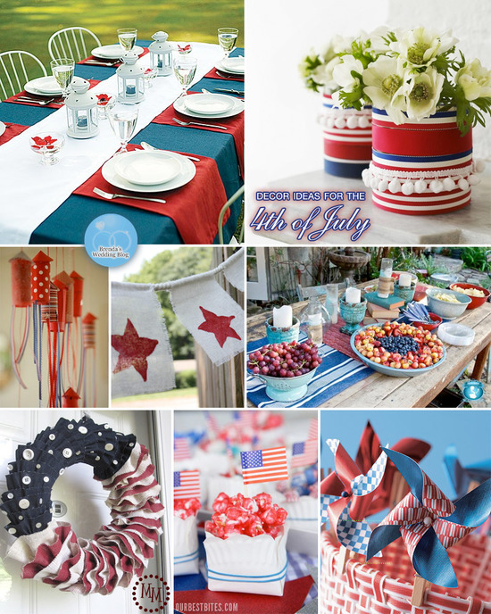 Pinterest 4th of july decorating ideas for Decoration 4 july