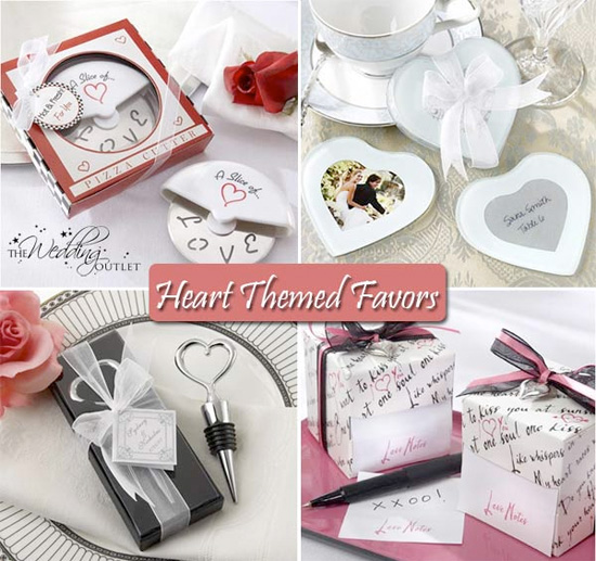 Celebrate Your Day With A Heart Wedding Theme